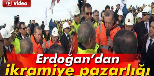 3.köprüde tarihi gün...Erdoğan'dan işçilere müjde