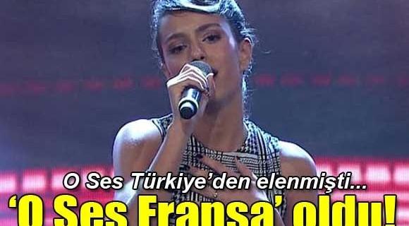 O Ses Türkiye olamadı...Fransa'nın birincisi oldu