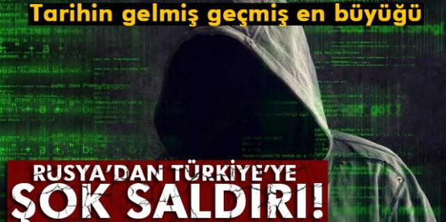 Rusya'dan Türkiye'ye büyük saldırı