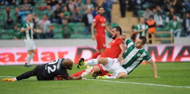Bursaspor'un Antalya uğuru...