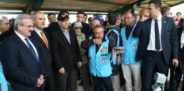 Bursa'da silahlar spor için ateşleniyor