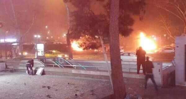 Ankara'da bombalı saldırı!