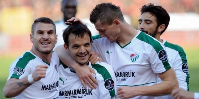 Bursaspor Avrupa aşkına...