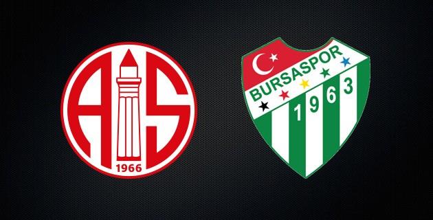 Antalyaspor: 3 - Bursaspor: 0