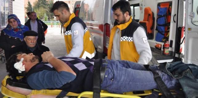Bursa'da iş kazası...
