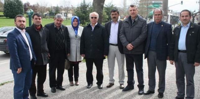 Bursa'da 11 mahallenin muhtarından yeni çöplük alanına destek