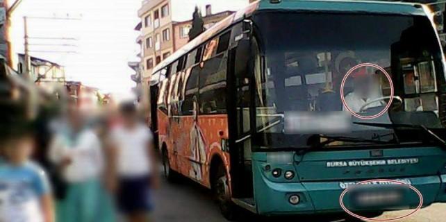 Halk otobüsünde yolcuya ağız dolusu hakaretler