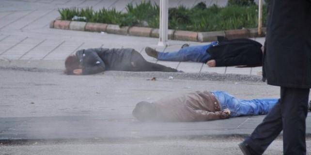 Ankara'da sıcak saatler...Ölü ve yaralılar var
