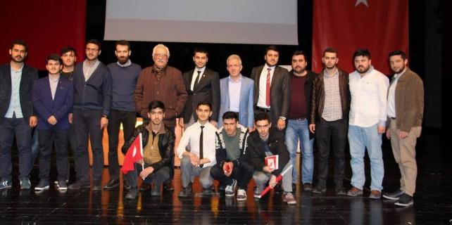 Yavuz Bahadıroğlu Çanakkale'yi anlattı