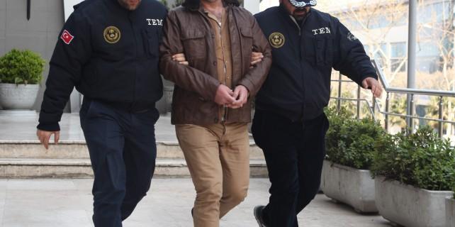 Bursa'da öğretmenden terör propagandası...