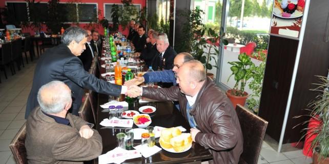 Osmangazi Belediyesi'nden şehit aileleri ve gazilere yemek