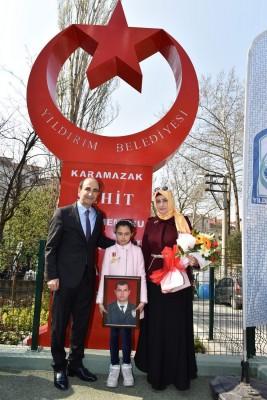 ŞEHİT POLİSİN ADI YILDIRIM'DA YAŞAYACAK
