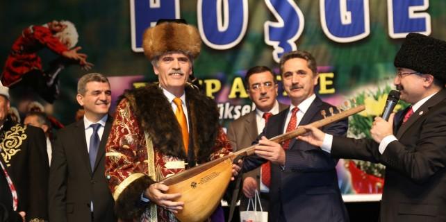 Başkan Altepe'ye Türk Dünyası Hizmet Nişanı