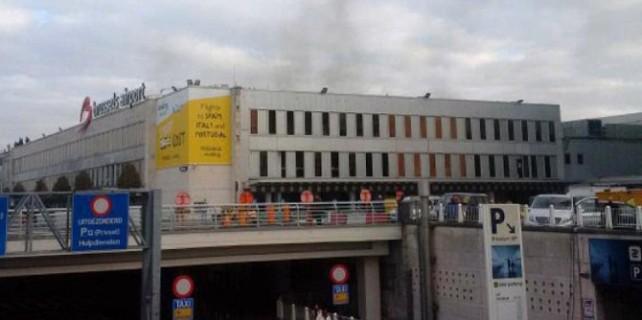 Brüksel'de iki ayrı patlama: Yaralılar var! (video)