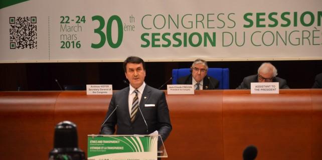 İşte Başkan Dündar'ın Avrupa Konseyi'ndeki konuşması (video)