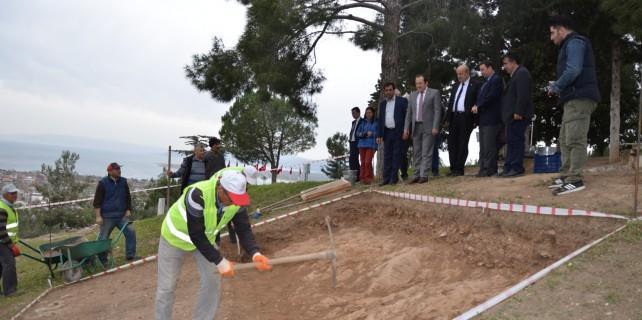 Bayraktepe'ye ilk kazma vuruldu