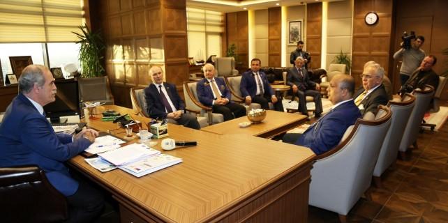 Rotary Büyükşehir ile ortak projeler yapacak