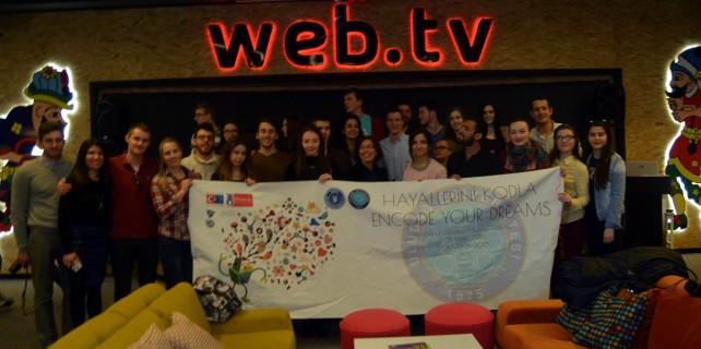 U.Ü. Robot Topluluğu'na Avrupa'dan destek