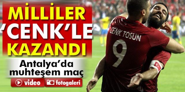 Türkiye 2 İsveç 1 -Maç özeti-