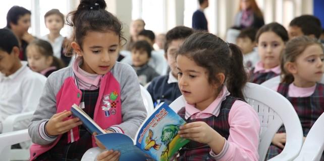 Öğrencilere kitap sevgisi aşılayan buluşma