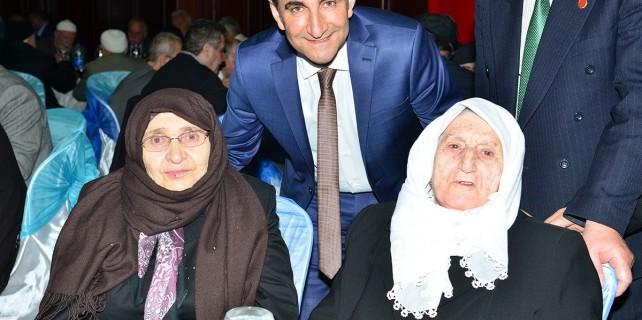 Başkan Edebali'den yaşlılara vefa