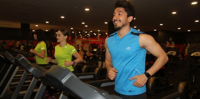 Bursa'da Fitness Center törenle hizmete açıldı