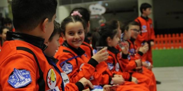 Bursalı küçük astronotlar