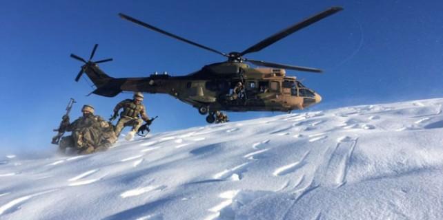 2 metre karda nefes kesen operasyon