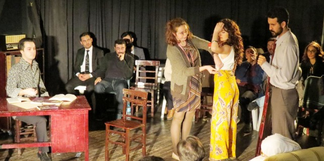 Sanatçı adayları, Dünya Tiyatrolar Gününü kutladı