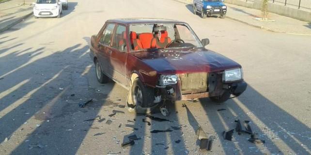 Kampüste kaza: 4 yaralı