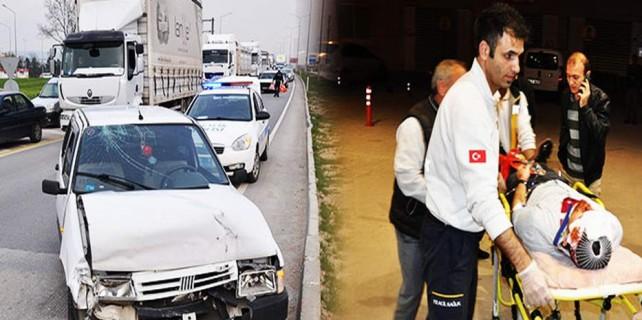 Bursa'da kazalar hiç bitmiyor...
