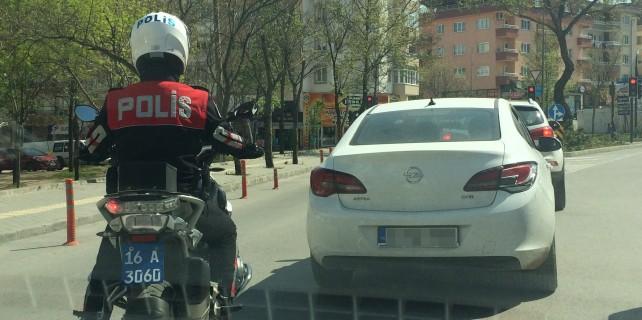 Bursa'da polisten kaçan araçtan bakın ne çıktı..?