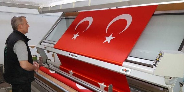 Bursalı firmaya CHP'den 2 trilyon liralık bayrak şoku