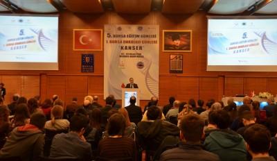 BURSA EĞİTİM GÜNLERİ 'KANSER' TEMASIYLA BAŞLADI