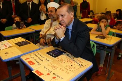 CUMHURBAŞKANI ERDOĞAN'I DUYGULANDIRAN ŞİİR