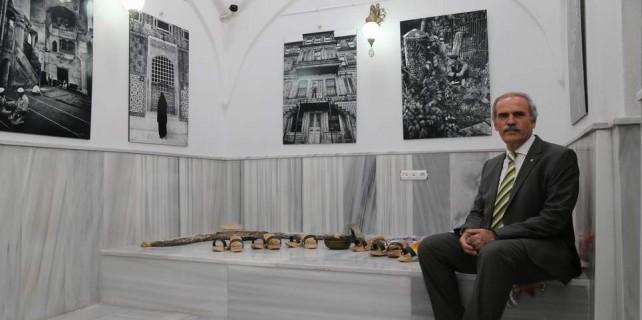 Tarihi hamam kültür merkezi oldu...Ara Güler'den muhteşem fotoğraflar