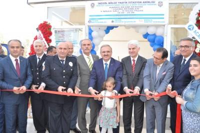 """POLİSLERDEN ŞEHİT AİLELERİ İÇİN """"YAKMA"""" SERGİSİ"""