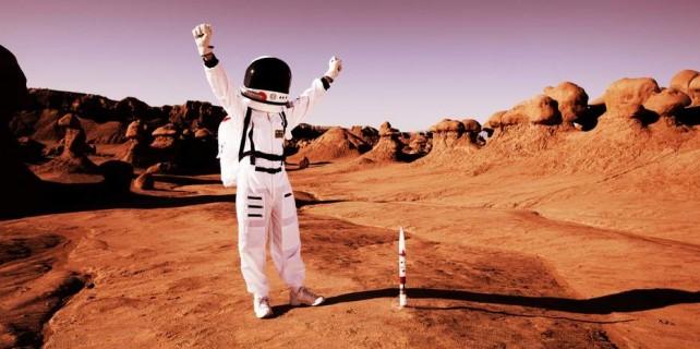 Bursa'da 60 bin kişi Mars'a yolculuk yaptı...