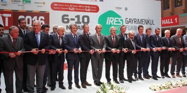 Türkiye'nin en büyük gayrimenkul fuarına görkemli açılış