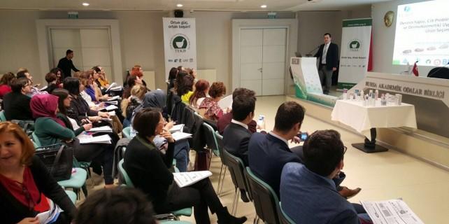 Bursa'da Dermakozmetik Eğitimi'ne yoğun ilgi