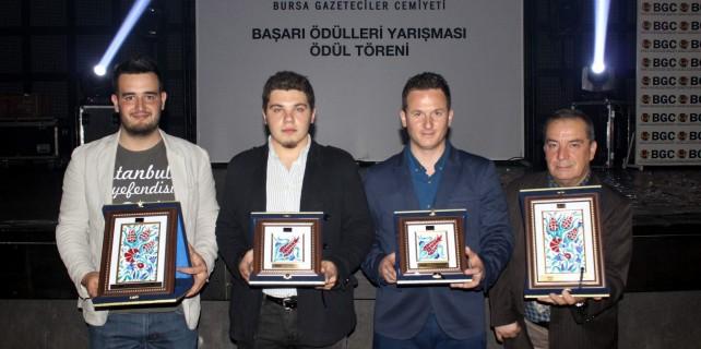 Bursa Gazeteciler Cemiyeti'nden İHA'ya 4 ödül