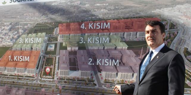 Osmangazi'de 70 bin kişilik şehir inşa edildi