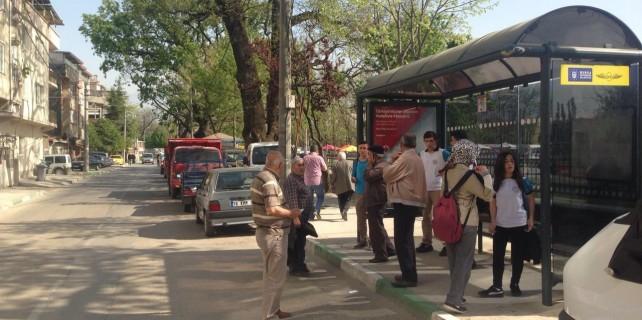 Bursa'da o mahallede ulaşım güçleşiyor..
