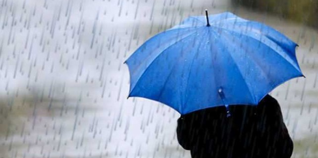 Bursalılar dikkat! Şemsiyesiz çıkmayın..