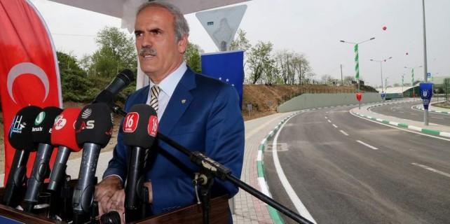 Bursa'nın yeni yolu açıldı...