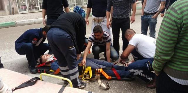 Aman dikkat...Bursa'da yürekleri ağızlara getiren kaza