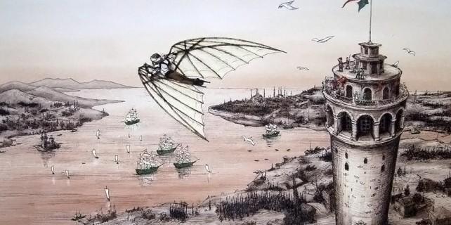 Uçan Adam Hezarfen Ahmet Çelebi