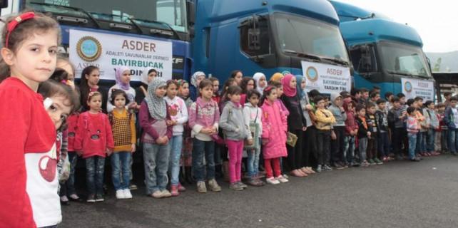 Bursa'daki Suriyeli çocuklardan öyle bir yardım geldi ki...