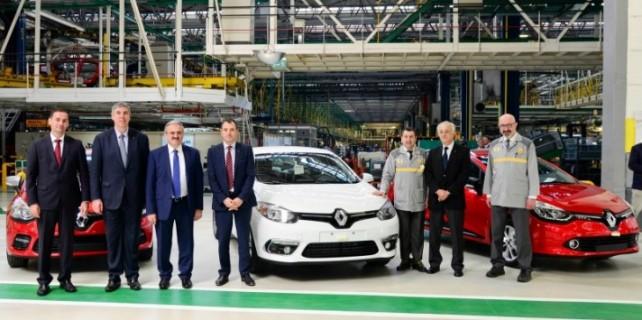 Renault'da üretim tam gaz...