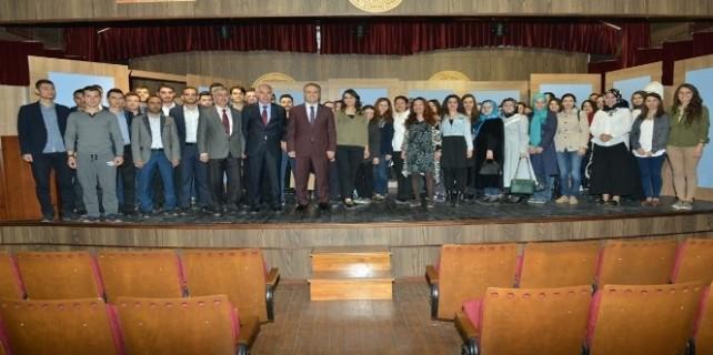 Aktaş Öğretmen adaylarına İnegöl'ü anlattı